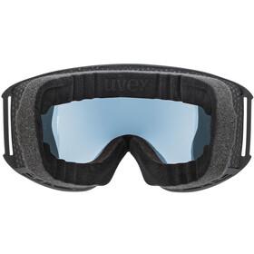 UVEX Topic FM sphere Goggles black mat/mirror silver